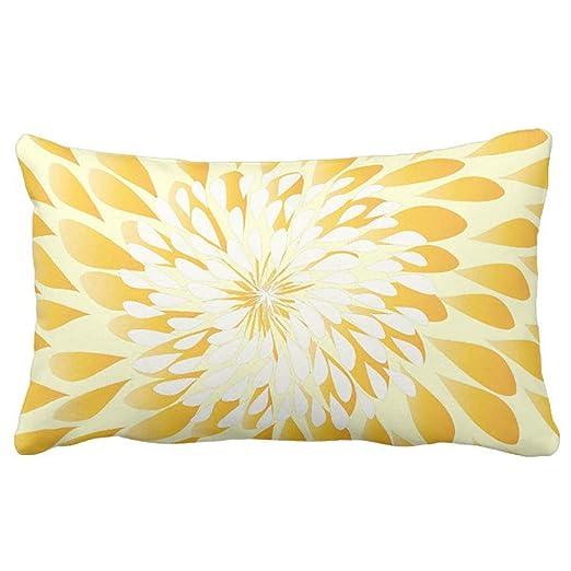 AUUOCC - Funda para cojín (45 x 45 cm), diseño Floral, Color ...