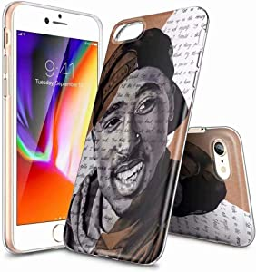 Basic Cases Soft TPU Case for iPhone 7 Plus and iPhone 8 Plus, Transparent Shockproof and Anti-Scratch Case [LZX20190378]