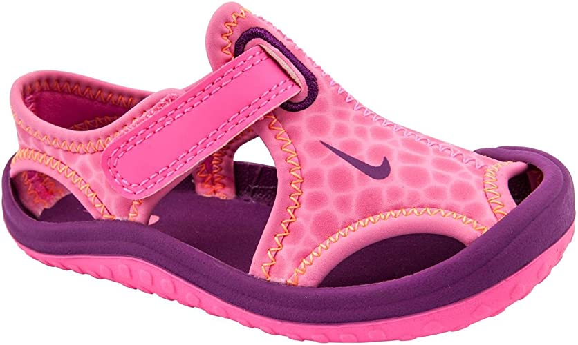 Girls Sunray Protect Pink Sandals