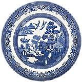 Churchill China Churchill Blue Willow Plate 26cm (Set of 6) WBMBP26M3