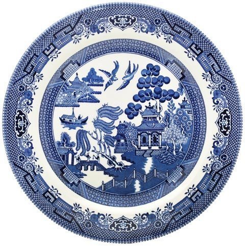 Image result for willow pattern plate