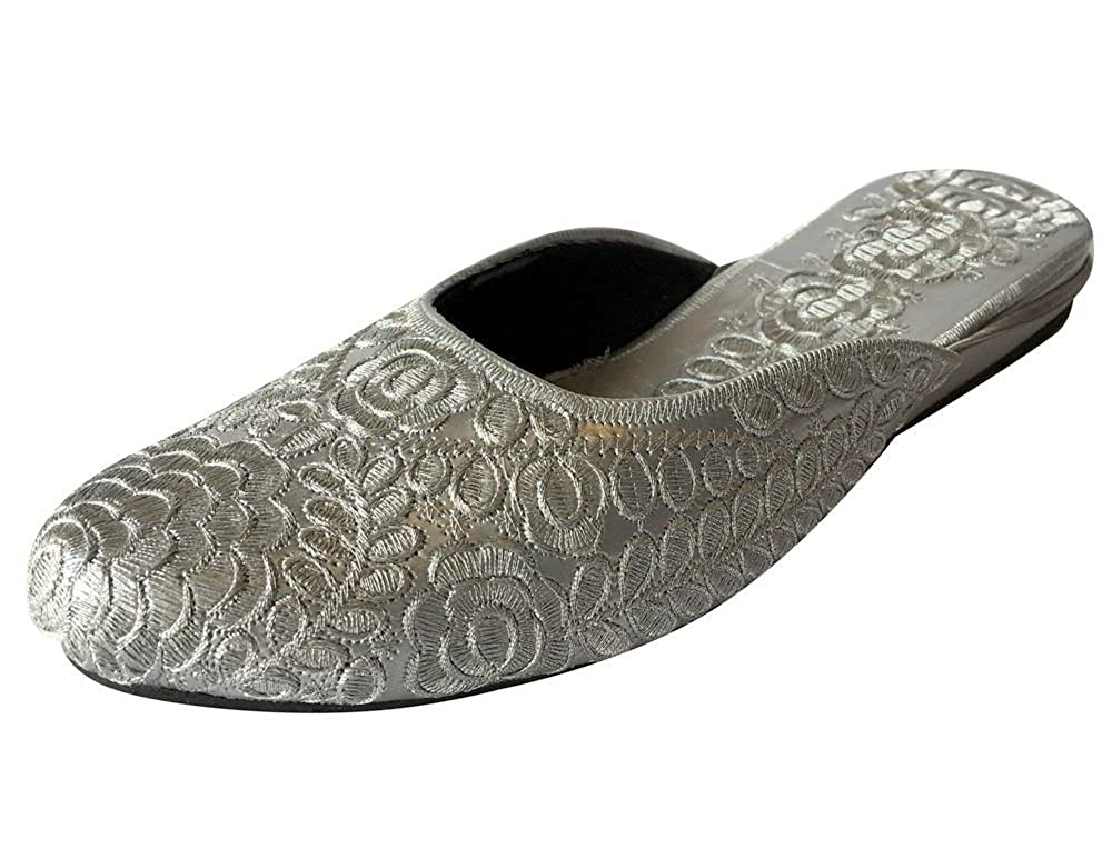 Step n Style Khussa Shoes Mojari Jutti Salwar Kameez Saree Ethnic Indian Shoes Jooti DD630