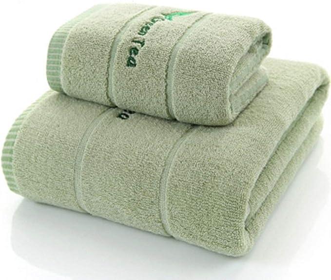 Color : Gray , Size : Free size Toallas Suaves Con La Punta De Los Dedos Tipo de adultos Enrejado cuadrado de secado r/ápido absorbente toalla de ba/ño Juego de toallas Set De Regalo Face Towel