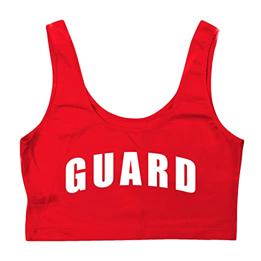 d7beba527402 Amazon.com  BLARIX Womens Guard Crop Tank Top  Clothing