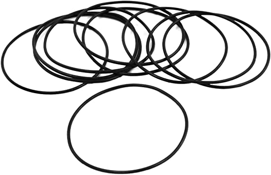 sourcingmap 20 St/ück 46mm x 1.5mm Gummi Nitrilkautschuk O Ring NBR Dichtung Dichtungsringe de