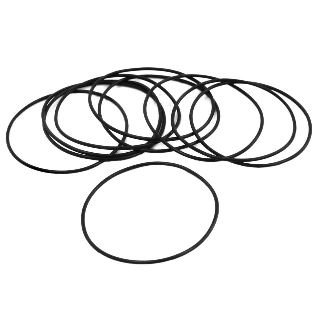 uxcell 5Pairs 35mm x 33mm x 1mm Rubber O Ring Oil Seal Gasket Replacement a14022100ux0172