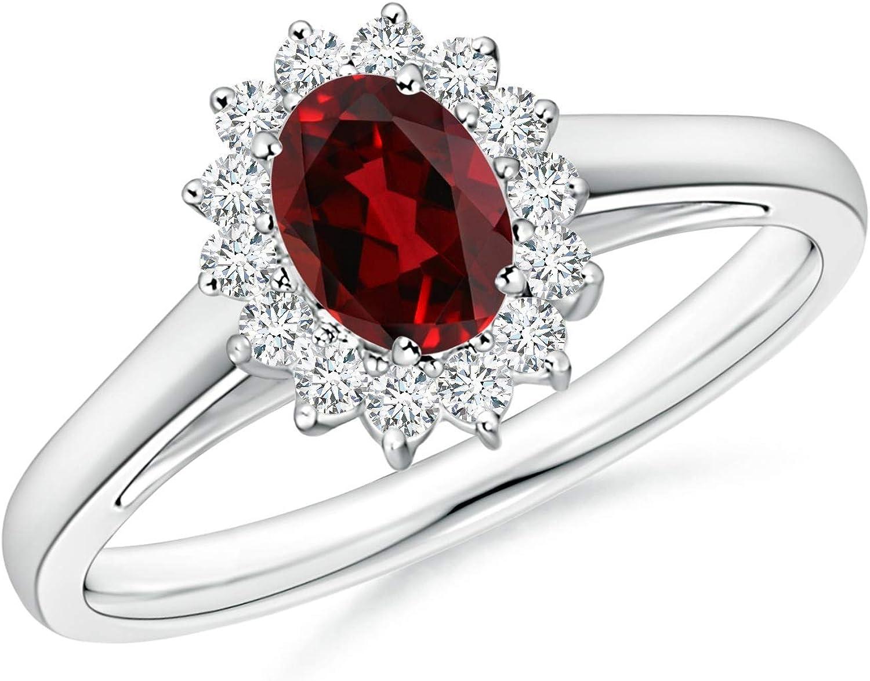Garnet Ring-Sterling Silver Ring-Statement Ring-Silver Promise Ring-8mm Round Garnet Ring-January Birthstone Vintage Ring-Gift for her Ring