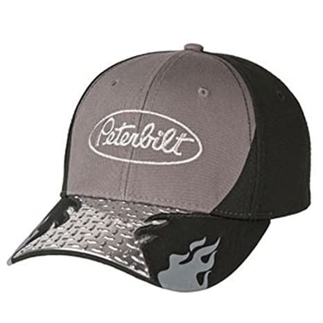 a27db64980e Amazon.com  BD A Peterbilt Diamond Plate Cap Hat  Sports   Outdoors