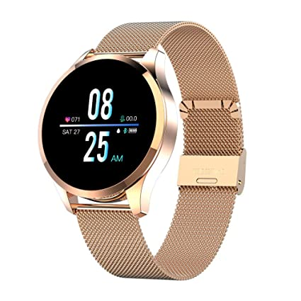 FBLWT Smartwatches Reloj Inteligente Q9 Pantalla Redonda ...