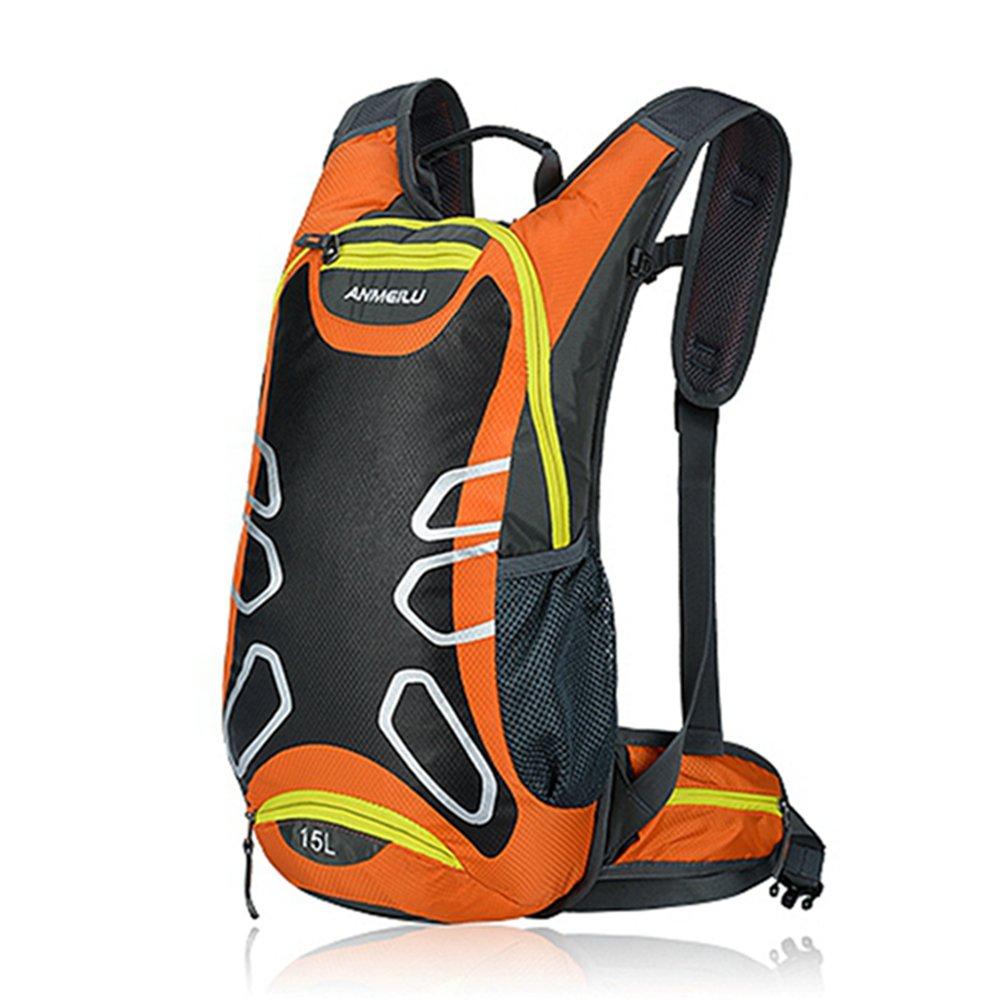 iParaAiluRy 15L 防水 ショルダー アウトドア サイクリング バイク ライディング バックパック マウンテン 自転車 旅行 ハイキング キャンプ ランニング ウォーターバッグ   B01JTXPD9G