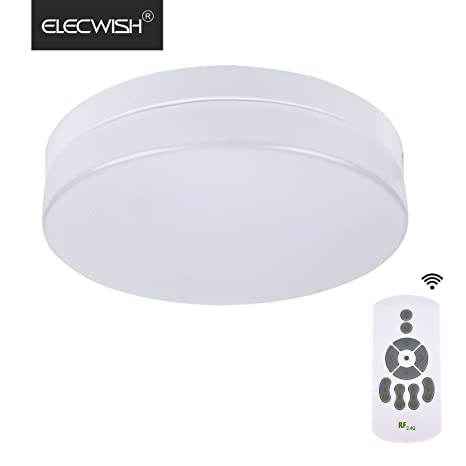 Elecwish 12 inch flush mount led ceiling light with wireless remote elecwish 12 inch flush mount led ceiling light with wireless remote control 24w150w mozeypictures