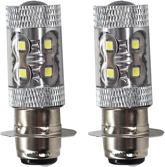 50W Headlight Bulbs Yamaha Timberwolf YFB 250 1992 1993 1994 1995 1996 1997 1998