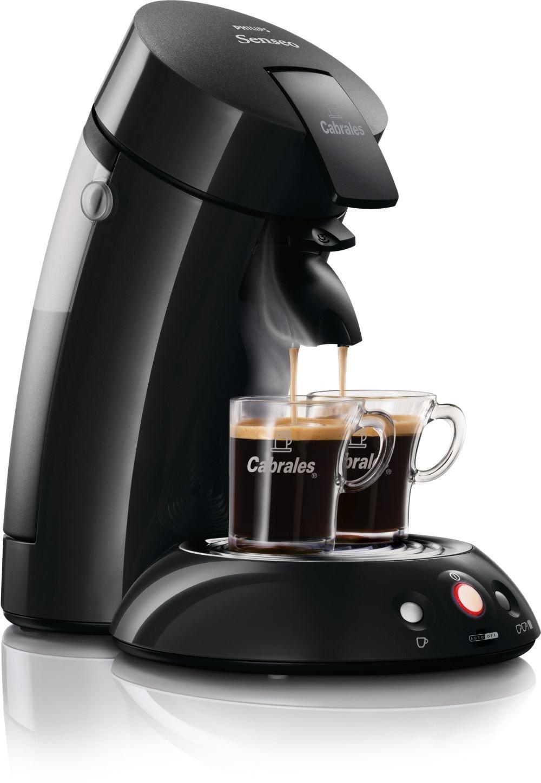 Philips Senseo HD7811/68 Independiente Máquina de café en cápsulas 0.75L Negro - Cafetera (Independiente, Máquina de café en cápsulas, 0,75 L, Dosis de café ...