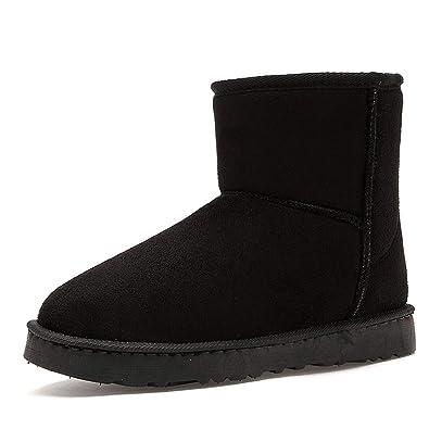 AMAZING AMAZING Super Warm Snow Boots Men Fashion Couple Unisex Winter Boots for Men Casual Shoes