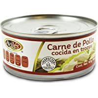 Aviles Carne de Pollo Cocida en Trozos, 141 g