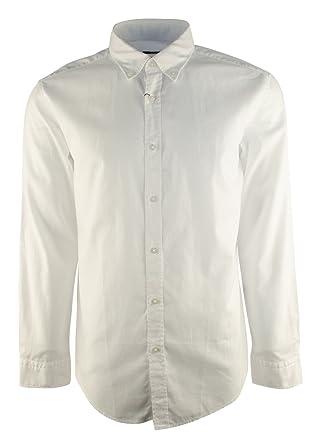 5a6f43e9b Amazon.com: Hugo Boss Boss Men's Slim Fit Rod Button Down Long Sleeve Sport  Shirt: Hugo Boss: Clothing