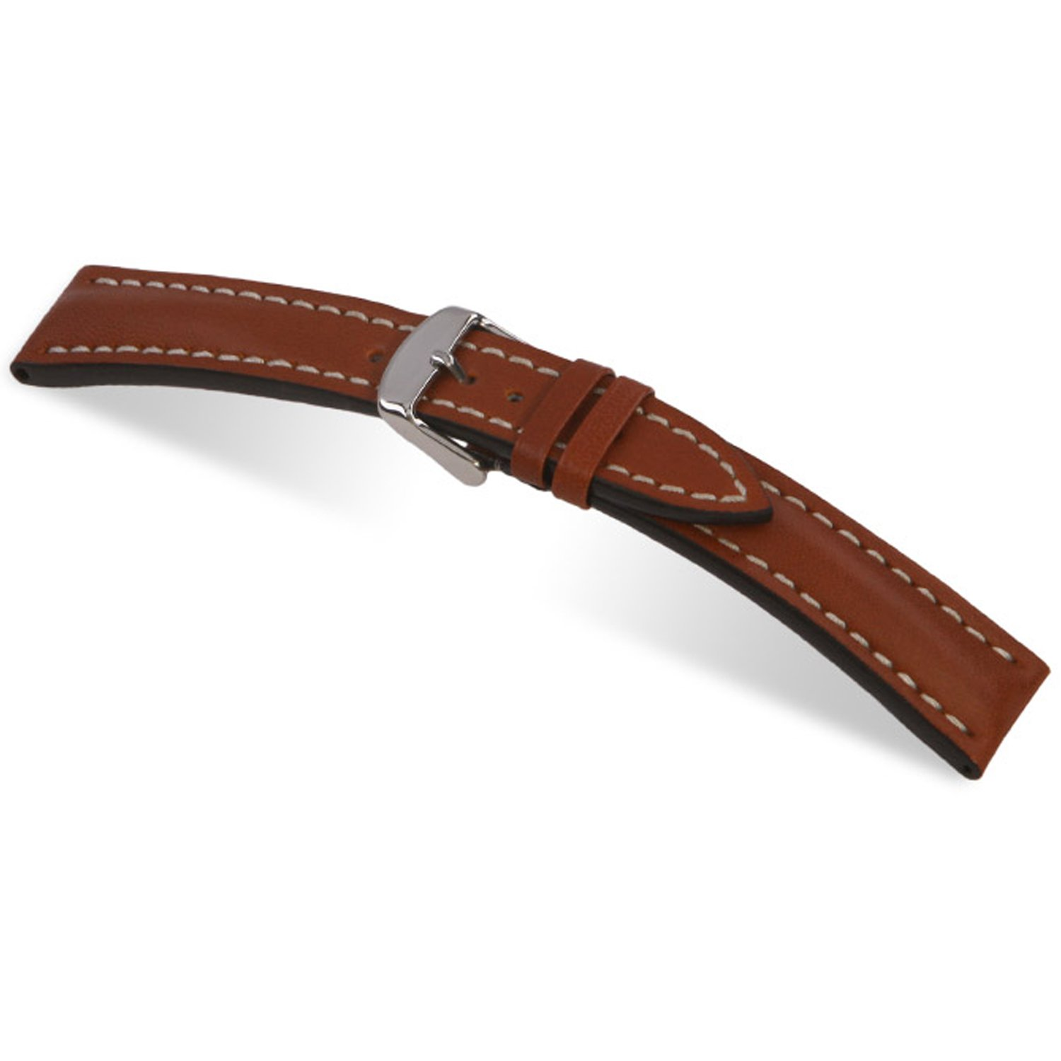 RIOS1931 Tornado - Genuine Russian Leather Watch Band with Pin Buckle for Breitling 114x82