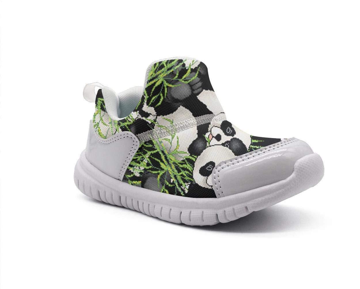 ONEYUAN Children Panda Bear Cool Painting Wallpaper Kid Casual Lightweight Sport Shoes Sneakers Running Shoes