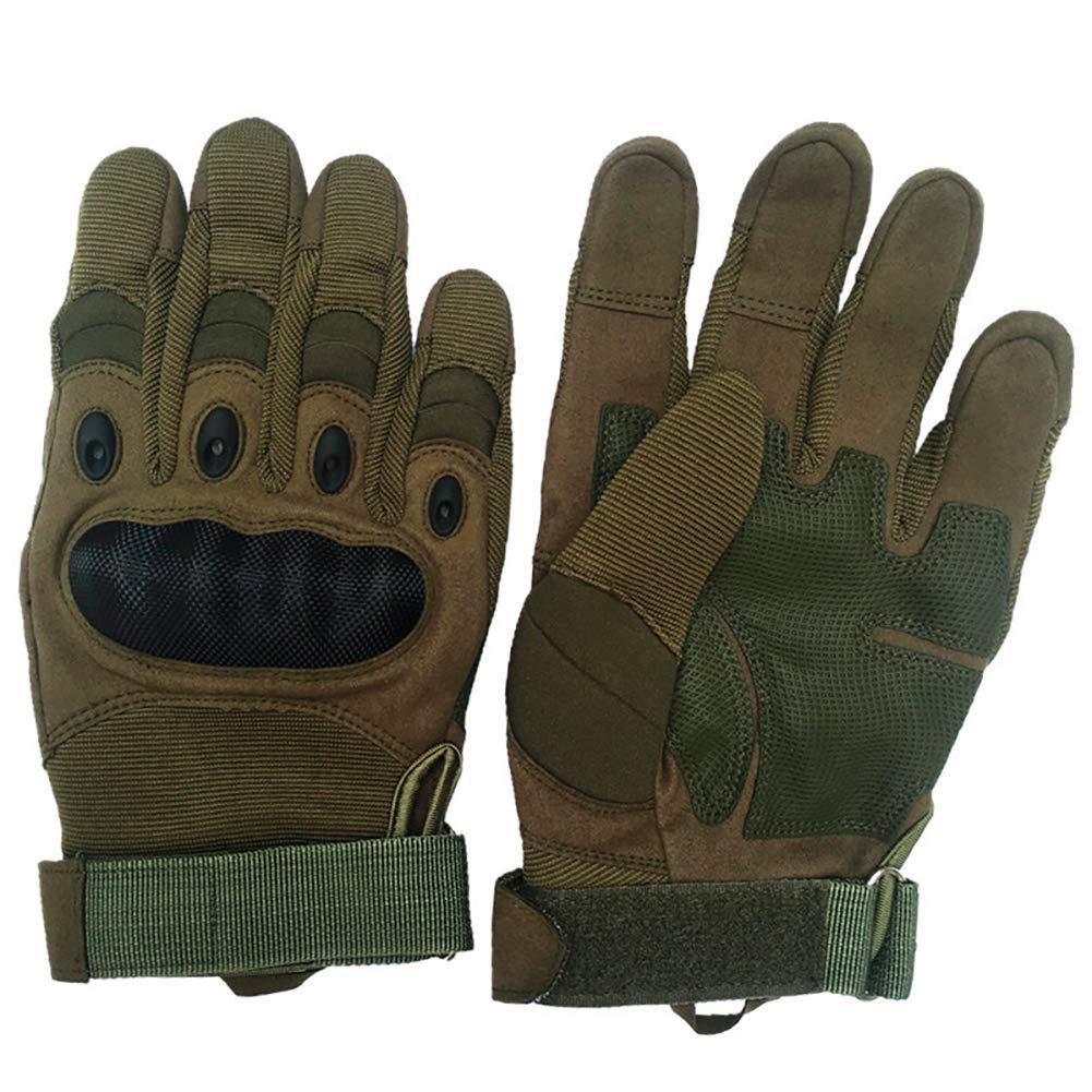 Black, M GES Motorbike Gloves Men Full Finger Motorcycle Gloves Touch Screen ATV Riding Motocross Racing Gloves