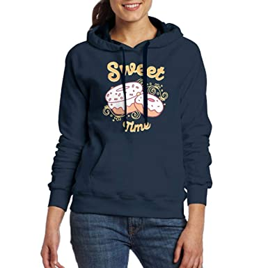 d472ac9b09 Lamont Rhea Women's Sweet Time Fashion Long Sleeve Sweatshirt ...