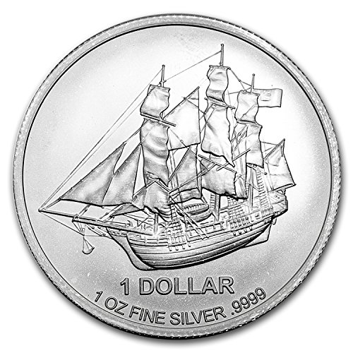 2016 Cook Islands 1 oz Silver Bounty Coin 1 OZ Brilliant Uncirculated