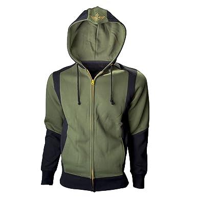 9001a01181785 Zelda - Logo Homme Sweat Capuche - Vert: Amazon.fr: Vêtements et accessoires