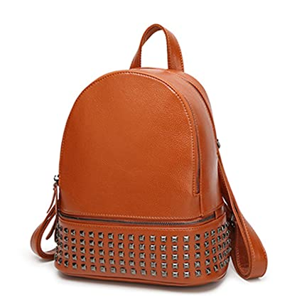 a2b51dc6989 Amazon.com: Rivets Backpack Women Small Backpacks for Teenage Girls ...