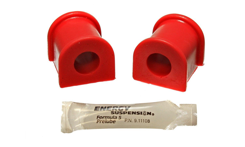 Energy Suspension 8.5132R 18mm Rear Sway Bar Bushing Set for TC
