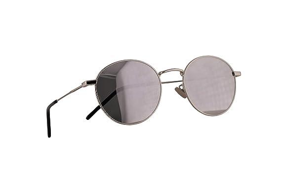 Saint Laurent SL250 - Gafas de sol (52 mm, lentes plateadas ...