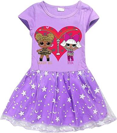 para Niña Falda de Princesa Cosplay para Fiesta de Halloween ...