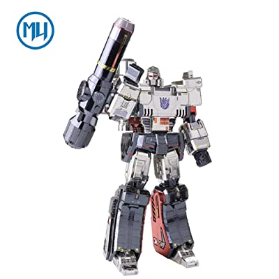 2019 MU 3D Metal Puzzle Transformers Megatron Model YM-L055-C DIY 3D Laser Cut Assemble Jigsaw Toys For Audit
