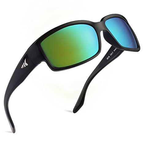 e60b0f76ee Amazon.com   KastKing Skidaway Polarized Sport Sunglasses for Men and Women