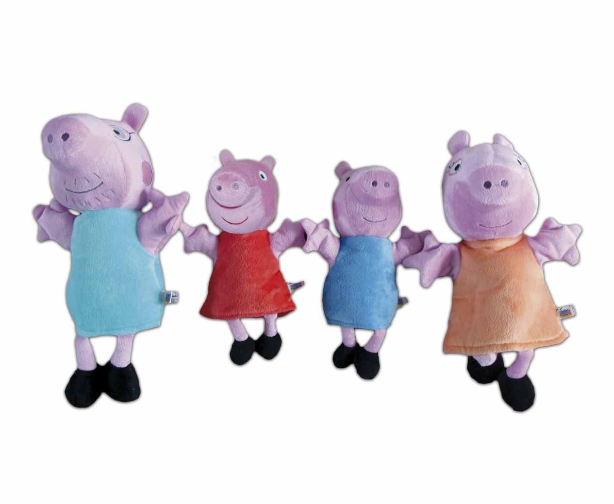 Peppa Pig - Set 4 Marionetas (Simba) 4585070 Simba Toys ClanTV dibujos educativo