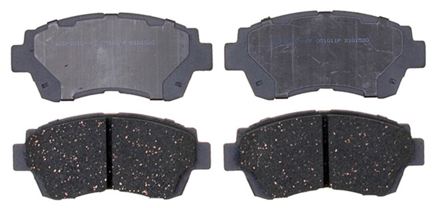 ACDelco 14D1404CH Front Ceramic Brake Pads