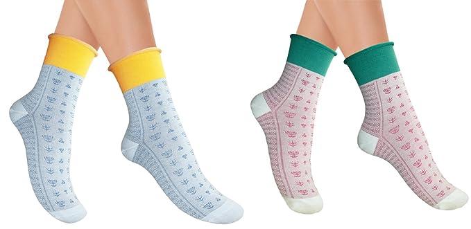 Señoras calcetines maternidad sin costuras generoso manguito ancho: Amazon.es: Ropa y accesorios