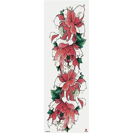 tzxdbh 3Pcs-New Brazo Lleno Etiqueta engomada del Tatuaje Gran ...