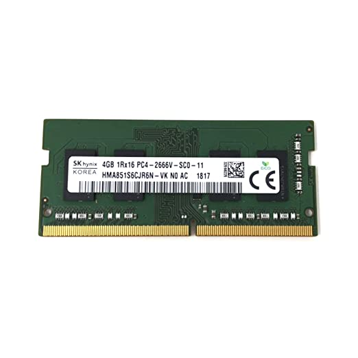 SK hynix HMA851S6CJR6N - VK Non ECC PC4-2666V 4GB DDR4 at 2666MHz 260pin SDRAM SODIMM Single Kit Laptop Memory - OEM at Amazon.com