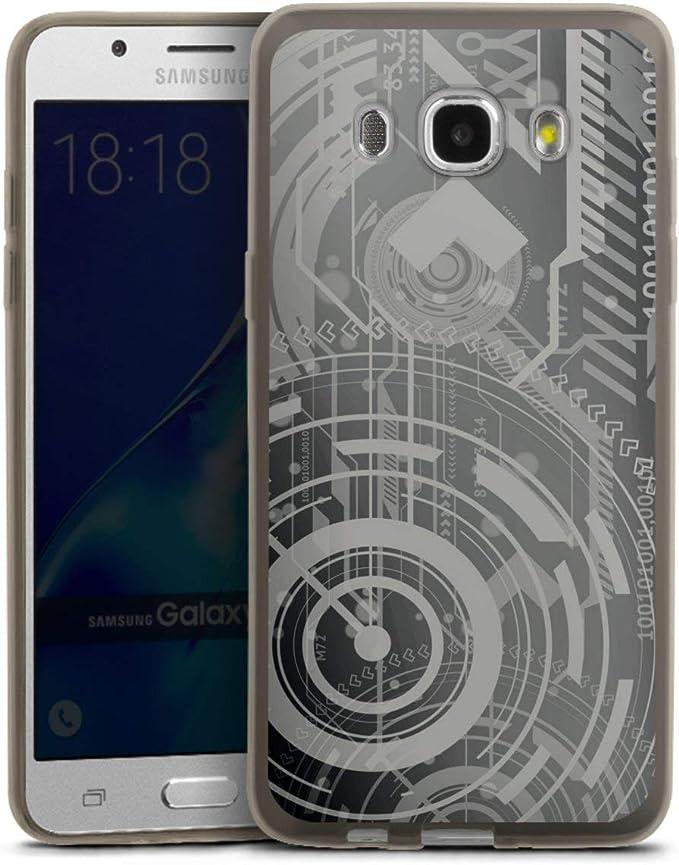Silikon Handyh/ülle schwarz H/ülle Erde Mond Weltall DeinDesign Slim Case extra d/ünn kompatibel mit Samsung Galaxy J5 Duos 2016