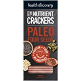 Health Discovery Paleo Four Seeds Nutrient Crackers, 150g