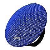mokcao estilo Portable Impermeable Bluetooth Altavoces V4.2con 15W superior sonido estéreo, Richer Bass, micrófono integrado, regalo perfecto de exterior & interior Wireless Altavoz para Iphone & dispositivo Android, Colorful Good, Azul