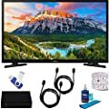 "Samsung UN32N5300AFXZA 32"" 1080p Smart LED TV (2018) with HD Digital TV Tuner & More Bundle"