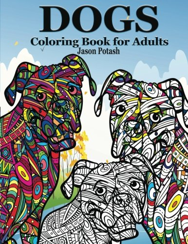 Dogs Coloring Adults Jason Potash product image