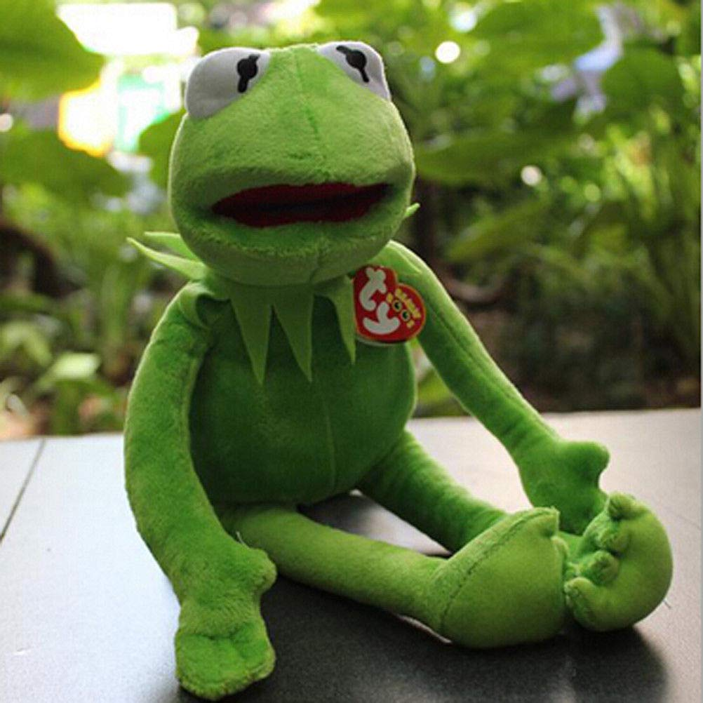 New Eden Full Body Kermit the Frog Puppet Memes Plush Toy Jim Henson soft doll