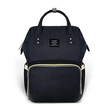 04ef53bb303 Land Diaper Bag Backpack, Large Capacity Baby Bag Backpack Stylish  Maternity Multi-Function Travel...