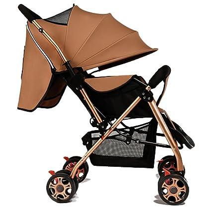 XUERUI Carrito De Bebé Carrito De Bebé Cómodo Hermoso Comodidad Seguridad 6 Colores Tienda (Color