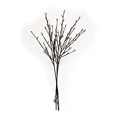 The Light Garden 184137 96 Light Willow Branch with Warm White LED's, 40 Inch : Garden & Outdoor