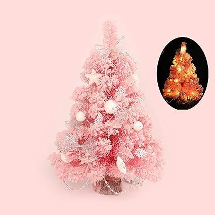 Pink Artificial Christmas Tree.Amazon Com Wffo Led Creative Artificial Christmas Tree