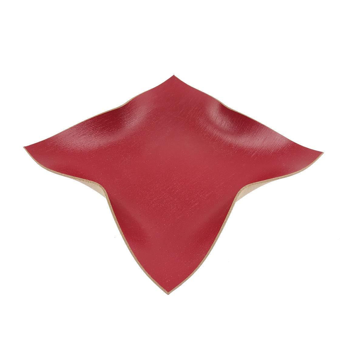 Design Schale aus Reish/ülsenhybrid Rot lackiert