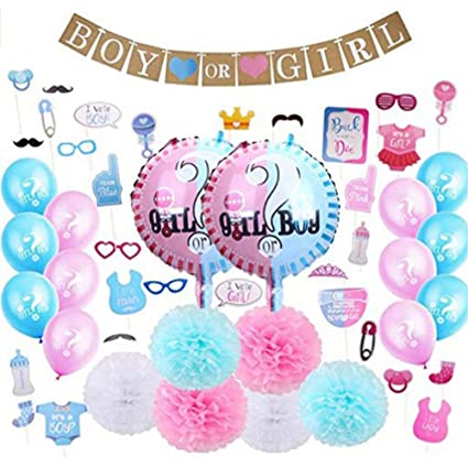 Amazon.com: Yodaliy - 49 piezas de decoración para baby ...