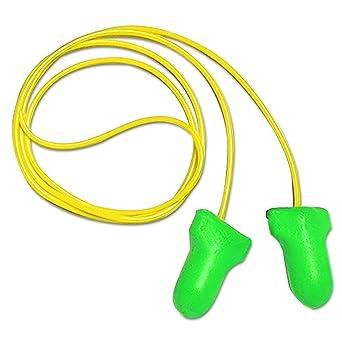 Howard Leight by Honeywell 3301121 Max Lite de un solo uso abrazadera de cordón con auricular